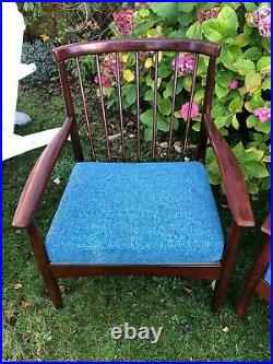 1 Vintage Greaves And Thomas MCM Midcentury Armchair Very Good Condition Rare