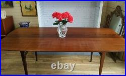 A. Younger Vintage Afromosia Dining Table 4 Heals Mid Century RARE Refurbished