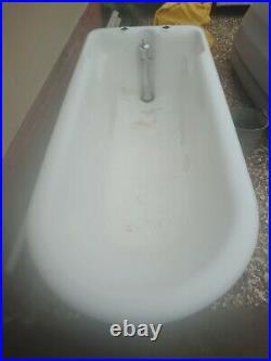 Antique Cast Iron plunge bath. Vintage Rare design Original Plunge. Now Reduced