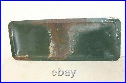 Antique Dr Pepper Tin Litho Sign G-18 Rare 30x12 Vintage Soda Pop Original Old