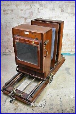 Antique Rare Hunter Penrose Process Camera very large camera vintage props