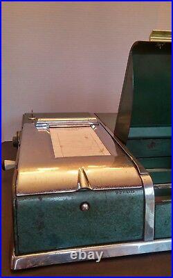 Antique/VTG Art Deco Cash Register- Cashier, Strong Box, Circa 1930s-40s, RARE