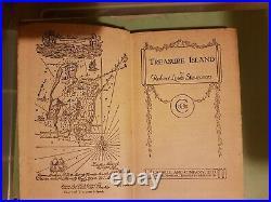 Antique Vintage Rare 1st Edt Robert Louis Stephenson Treasure Island Book 1883