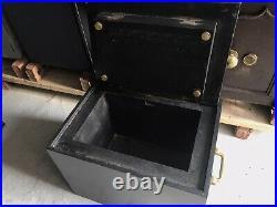Antique Vintage Retro Victorian Rare Strong Box Safe Can Deliver