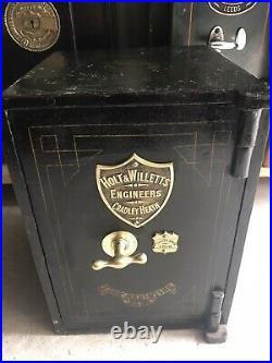 Antique Vintage Unusual Rare Holt Willetts Safe Keys Can Deliver