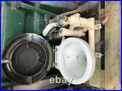 Baby Blake vintage rare antique marine sea toilet