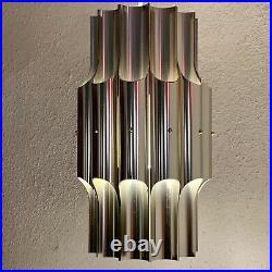 Bent Karlby, vintage rare Ceiling Lamp for LYFA. Model Pan. Danish Design