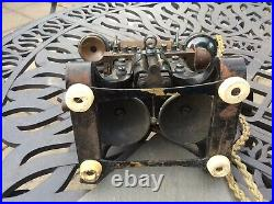 Ericsson skeleton vintage telephone Rare collectible antique not Bakelite phone