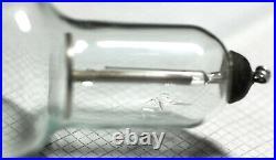 Fluorescent screen deflection cathode ray Crookes Tube vacuum USSR antique rare