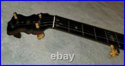 Gad Robinson Boston banjo 1890's Vintage Antique 5 String Excellent RARE