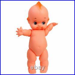 Large Kewpie Doll Baby Cupie Vintage Cameo Figurine Rubber Ornament Japan Toy 24