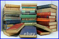 Lot of 100 Vintage Old Rare Antique Hardcover Books Mixed Color Random