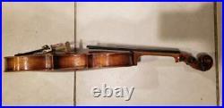 MAKE OF DISTINCTION VIOLIN Instrument Case Rare Vintage Antique NO BOW INCLUDED