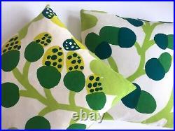 Marimekko Rare 1960's Orig Vtg Scandinavian MID Century Modern Throw Pillows