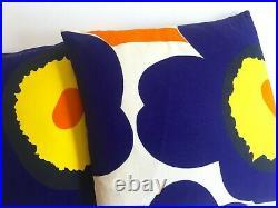 Marimekko Rare Orig Vtg 1960's Scandinavian MID Century Modern Throw Pillows