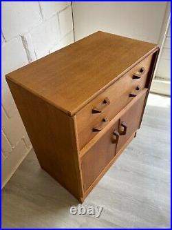 Midcentury G Plan Bureau Very Rare Vintage Golden Oak (delivery available)