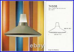 NORDISK SOLAR 74508 Pendant Sven MIDDELBOE Danish Vintage Lyfa 60s 70s 80s Rare