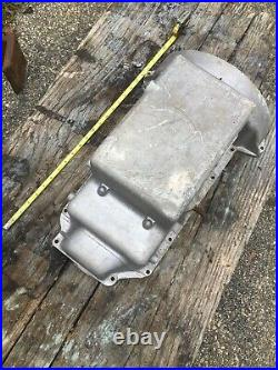 Oil Pan Sump Four Cylinder Antique Veteran Auto for Parts/Restoration MG
