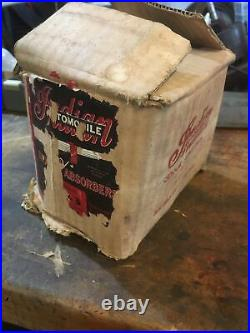 Original Indian Automobile Shock Absorbers BARN FRESH! Nos! With Box And Paper