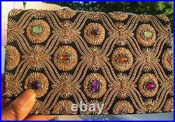 RARE ANTIQUE GENUINE Designer Vintage Van Cleef and Arpels Jeweled Bag Clutch