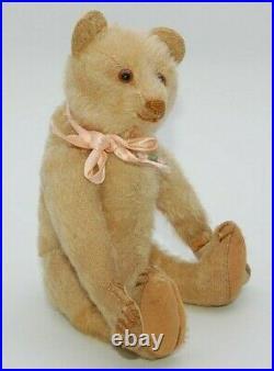 RARE Small Antique White Steiff Teddy 1920s Old Vintage Bear