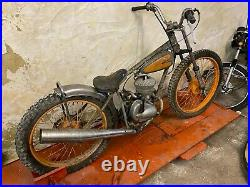 Rare Antique Peugeot Speedway Bike Project Display Motorcycle 125 VTG