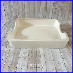 Rare Antique VTG English PURE BUTTER Dairy Ironstone Grocers Display Slab c1930s