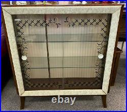 Rare Original Hubbinet Vintage Drinks Display Cocktail Cabinet