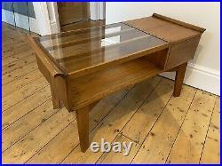 Rare Vintage G Plan Style Brandon Coffee table Solid Walnut Mid Century Retro