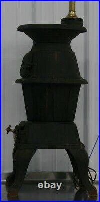 Rare Vintage King Stove & Range Pot Belly Wood Stove 30A Sheffield Alabama