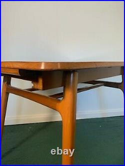 Rare Vintage Mid Century Everest Extending Dining Table