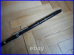 Rare flûte ancienne à 6 clés GAUTROT Ainé à PARIS Antique old vintage FLUTE