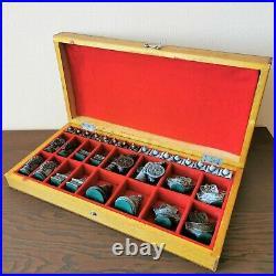 Rare soviet chess set 70s Moscow Kremlin USSR russia antique metal vintage