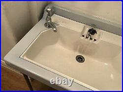Rare vintage 1920s Art Deco The Illustrus sink basin