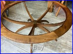 Rare vintage mid-century G-Plan Spider coffee table