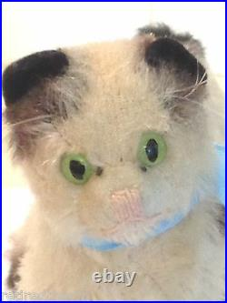 Steiff Young Kitty Gussy Cat 6312,00 4 1952-69 Vintage Rare Antique