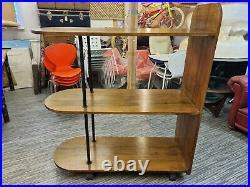 Superb Rare Vintage Art Deco Shop Display Shelving Haberdashery Clothing Retail