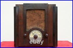 TELEFUNKEN 327 THE SISTER OF RADIO BALILLA 1930's WOOD TUBE VINTAGE ANTIQUE RARE