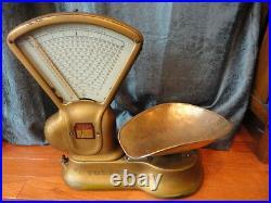 Toledo Scale Co 2 lb Candy Scale 405 A #342003 Rare Original Vintage