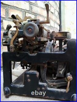 Typewriter Stoewer Antique Vintage RARE