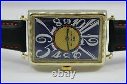 VERY RARE Watch Vintage 1930 Movement by IWC Schaffhausen TANK Art Deco Antique
