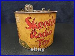 VINTAGE 20s ULTRA RARE ANTIQUE OLD SKEEZIX RADIO TOY CRYSTAL RADIO APPARTUS