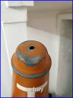 Very Rare Antique French Tabac Carrot Carrotte Vintage Metal Tobacco