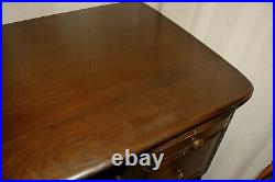 Very Rare Retro MID Century Vintage Ercol Kneehole Desk Study Office Large