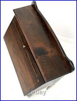 Vintage Antique Compact Bureau / Laptop / Writing Desk Rare Vetcraft