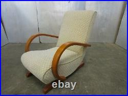 Vintage Art Deco SENG CHICAGO Retro Rocking Chair. Super Cool & Rare