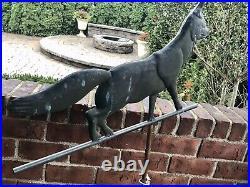 Vintage FOX COPPER WEATHERVANE Rare Antique