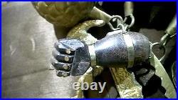 Vintage Rare HUGE PENCA de BALANGANDAN Brazilian Slave Charms Decor Good Luck