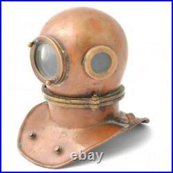 Vintage Rare Russian Soviet 3-bolt diving helmet (year 1960). USSR MARITIME