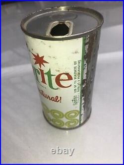 Vintage Rare Sprite 1960s Antique Soda Can